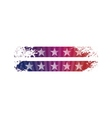Bright stylized background USA patriotic design vector image