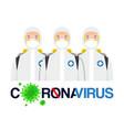 covid19 19 team vector image vector image