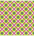 fabric ornament seamless tartan pattern square vector image