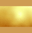 gold foil texture background abstract vector image
