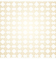 golden seamless geometric pattern on white art vector image vector image