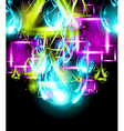 Graffiti Paint Art Background vector image