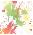 grungy design colorful blot element vector image