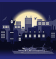 industrial european vintage styled city travel vector image vector image