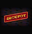 jackpot vector image
