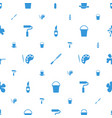 paint icons pattern seamless white background vector image vector image