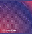 red and blue elegant halftone modern background vector image vector image