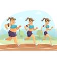 Slimming Woman vector image vector image