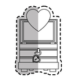 trunk of love icon vector image vector image