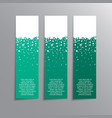 vertical winter banner stickers price tag label vector image vector image