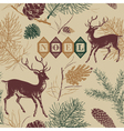 Vintage christmas noel background vector | Price: 1 Credit (USD $1)