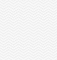 White geometric seamless zigzag background vector image