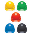 working hard hat set safety helmet isolated on vector image vector image