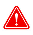 alert icon on white background