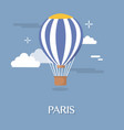 big balloon for transportation design vector image