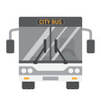 bus flat icon transport and vehicle tour bus vector image
