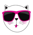 Cute Handdrawn Cat vector image