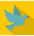 Dove icon flat style vector image vector image