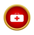 First aid case icon simple style