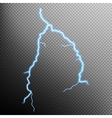Lightning isolated EPS 10 vector image