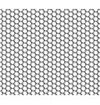 metallic hexagonal grid realistic seamless vector image vector image