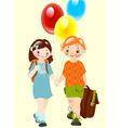 school childhood vector image vector image
