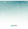 winter blue and white background christmas made vector image vector image