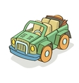 Car cartoon colored vector image vector image