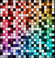 colored image of abstract blocks vector image vector image