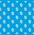 eggplant pattern seamless blue vector image vector image