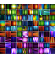 set of abstract striped blurred backgrounds vector image vector image