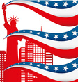 united states vector image vector image