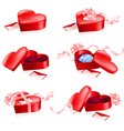 valentines gift box vector image