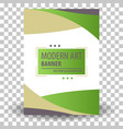 website header or banner vector image vector image