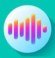 sound waves icon sound icon sound vector image