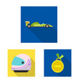 design of car and rally logo set of car vector image vector image