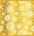 gold yellow abstract doodle stars seamless vector image