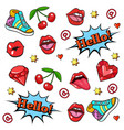 pop art style background vector image vector image