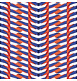 red and blue line plastic pattern vector image vector image