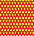Seamless pattern with yellow circles vector image vector image