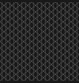 subtle background seamless pattern with chains vector image vector image