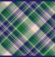 tartan textile check texture seamless pattern vector image