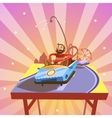 Amusement park cartoon vector image vector image