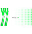 bright abstract background template green with a vector image