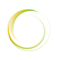 Colourful ring logo vector image vector image