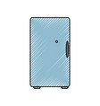 fridge vector image