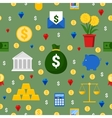 Money and Finance Seamless Pattern Background vector image