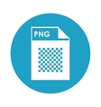 PNG file icon vector image