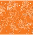 seamless pattern autumn 6 vector image