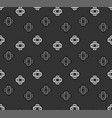 seamless pattern with a geometric shapes vector image vector image